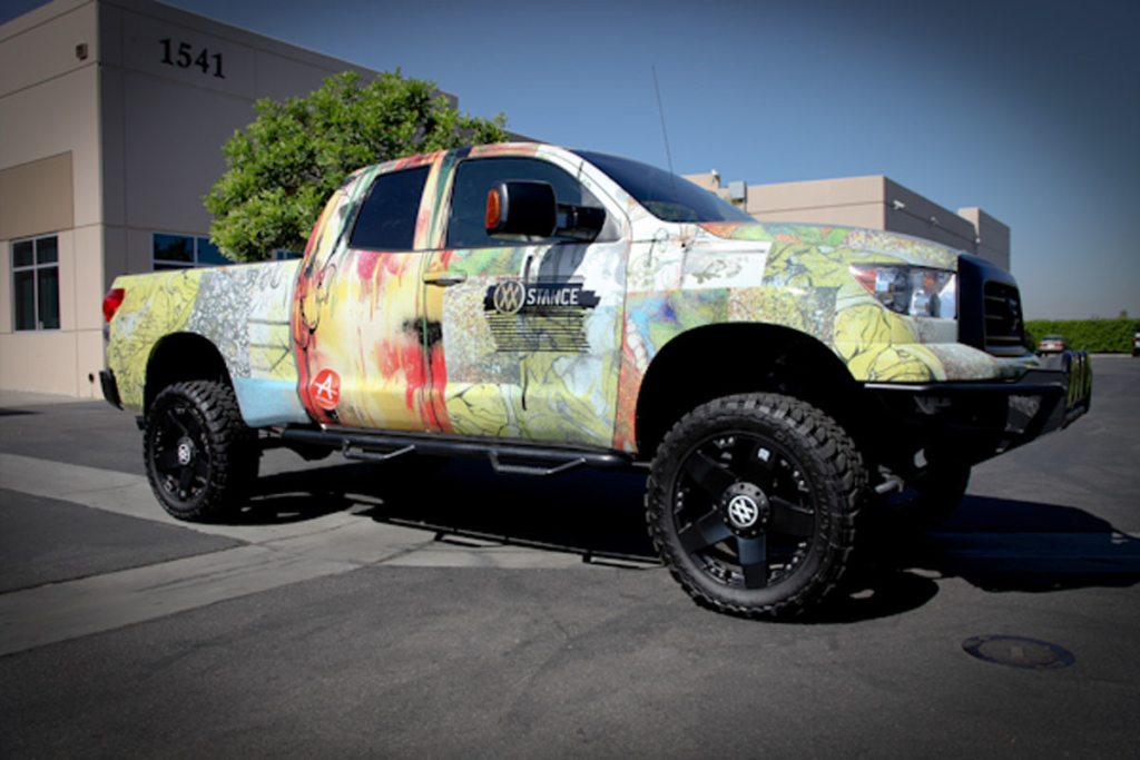 Toyota Tundra Diesel >> Vehicle Wraps | Monster Media Inc.