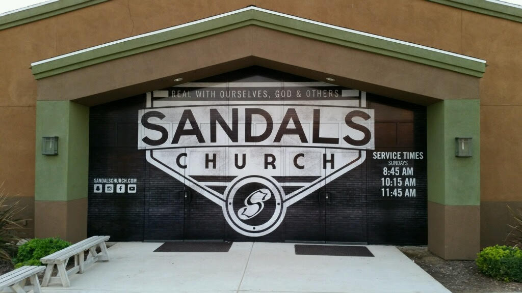 sandals church window wrap