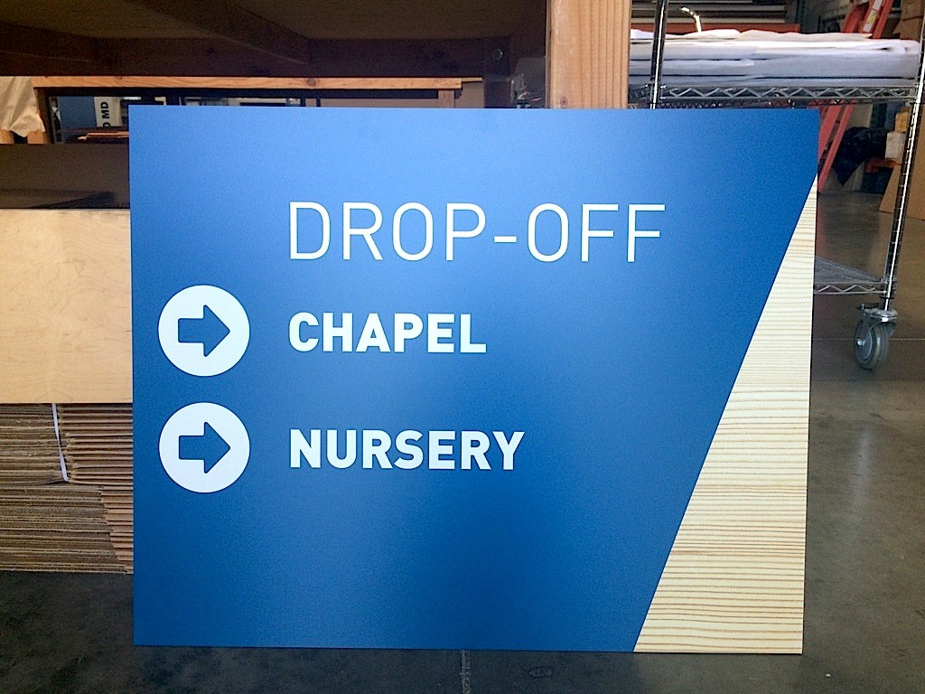 reliance church directional signage2